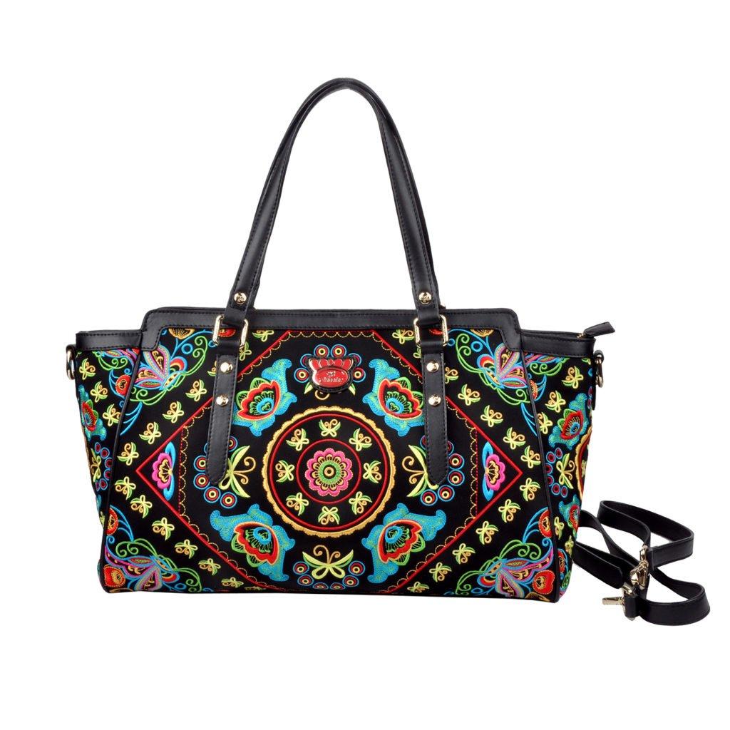 Fricaine Alake Embellished Exotic Bag