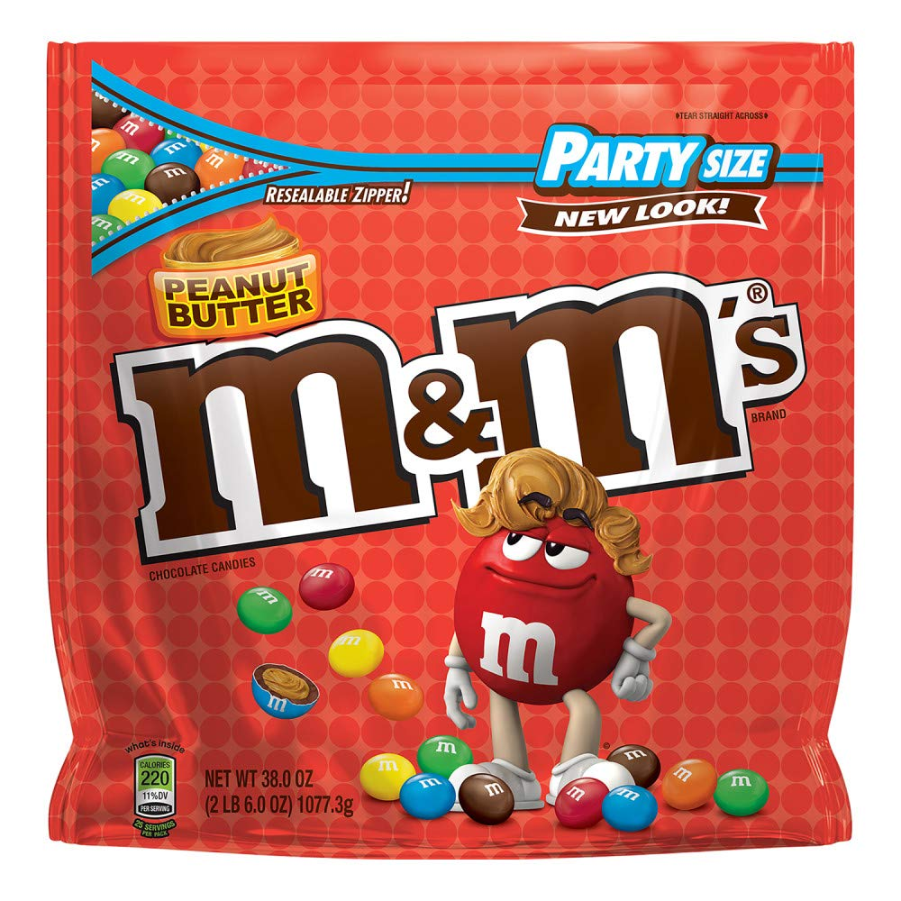 Amazon Com M M S Milk Chocolate Candy Party Size 42 Ounce Bag M