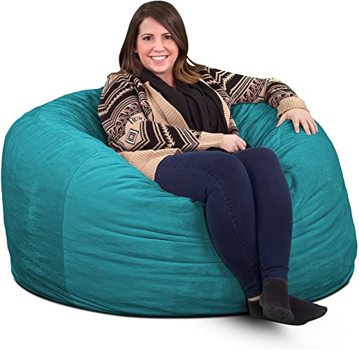ULTIMATE SACK 4000 Bean Bag Chair Giant Foam-Filled Furniture