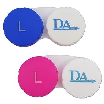 2 x Estuches Lentes de Contacto ~ Clasificados por Color ...