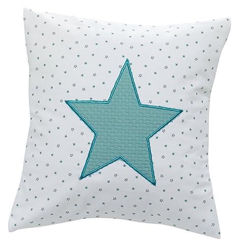 Alondra Mare 181 - Cojín infantil cuadrado con estrellas ...