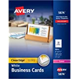 amazon com avery printable business cards laser printers 2 500