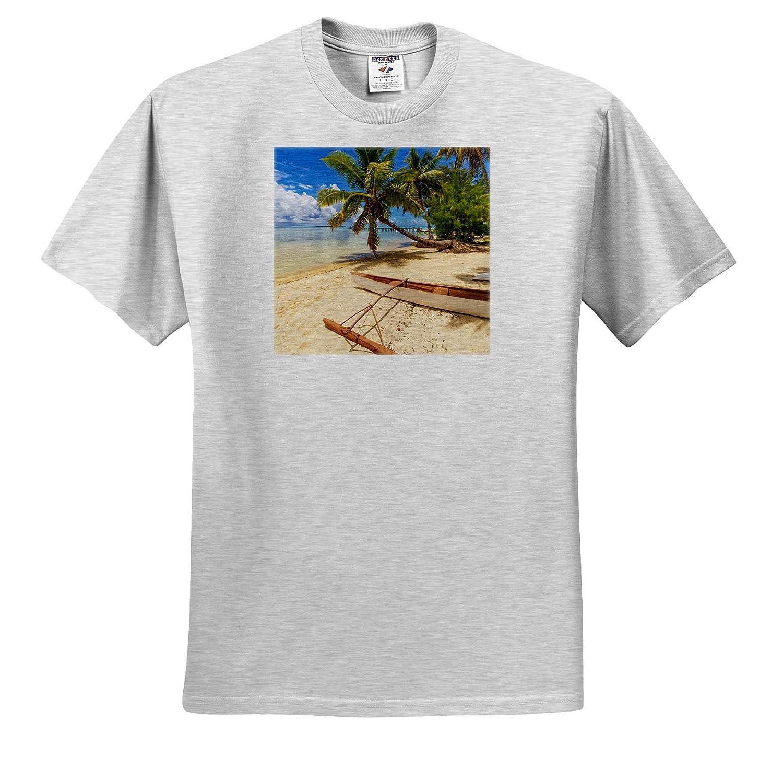French Polynesia Les Tipaniers 3dRose Danita Delimont Tiahura - Adult T-Shirt XL ts/_314037 Tropical Moorea