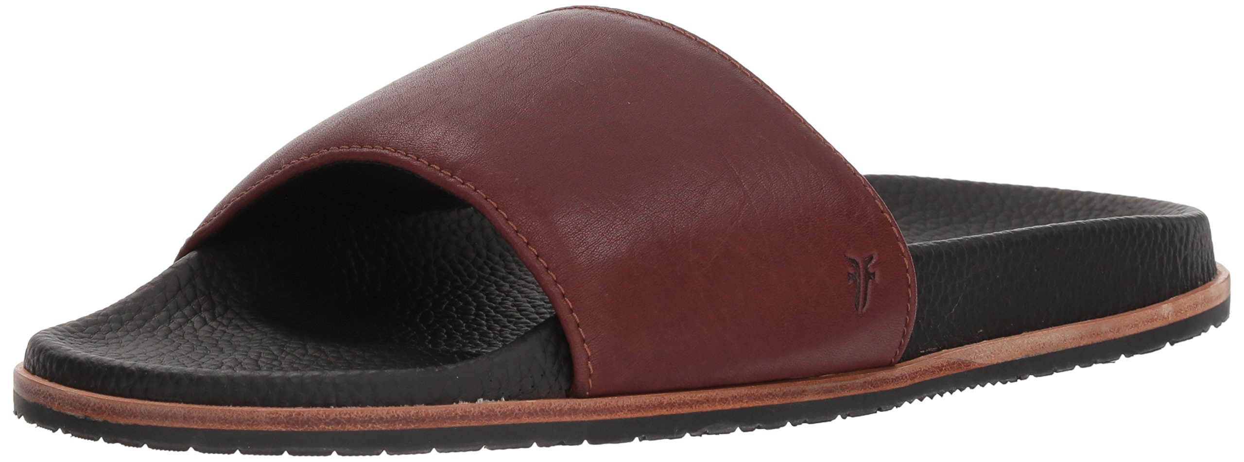 FRYE Men's Emerson Slide Sandal, Brown 12 Medium US by FRYE (Image #1)