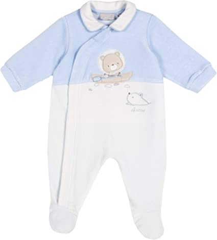 Chicco Unisex Baby Tutina Con Apertura Frontale Playsuit