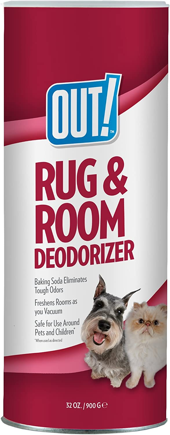 Out! Rug and Room Deodorizer Carpet Powder