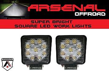 20X 48W Square LED Work Light SPOT Lamp Offroad Truck Tractor Boat Bar 12v Dodge