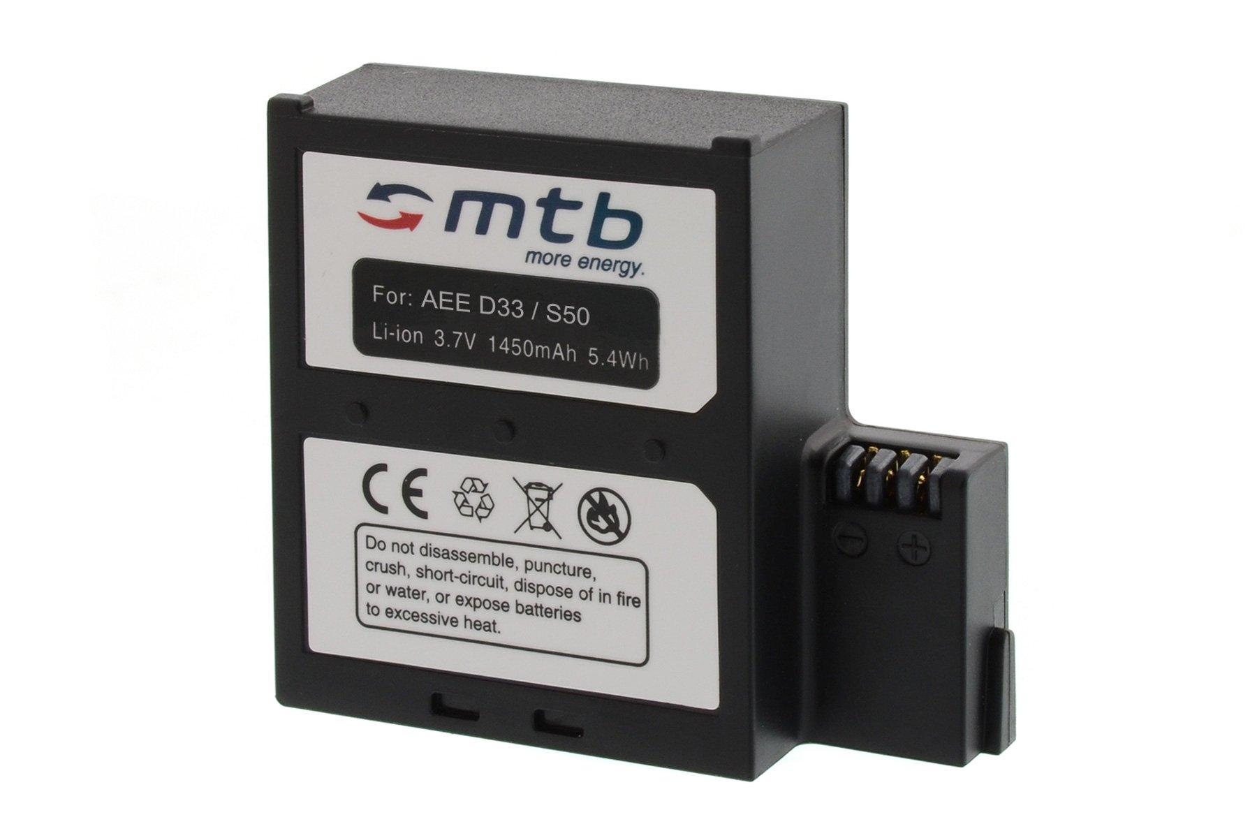 Battery for AEE Magicam S51, S70 Extreme/Light, S71 (WiFi), S80, S90 / Veho MUVI K2