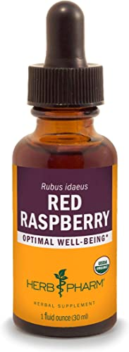 Herb Pharm Certified Organic Red Raspberry Liquid Extract