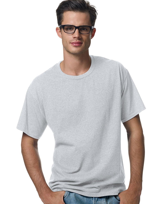 Hanes ComfortBlend EcoSmart Crewneck Mens T-Shirt/_Ash/_3XL