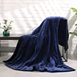 """MaxKare Large Electric Heated Blanket Adjustable Timer 4 Heating Levels, Twin Size 62"""" x 84""""in Heated Throw Blanket Auto-Off"""