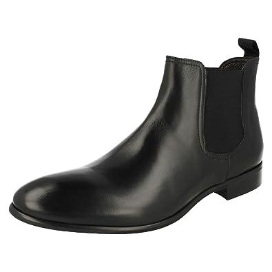 e0c0db0404cb Mens Morena Gabbrielli Boots Style FA-D1696 Black Size 10  Amazon.co ...