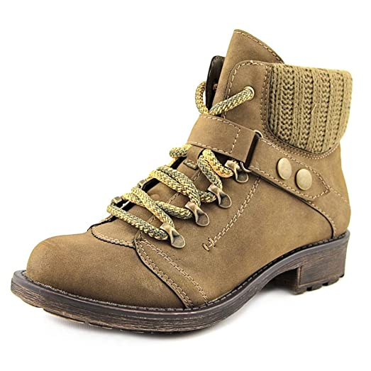 Womens Harvey Closed Toe Fashion Boots Beige Size 9