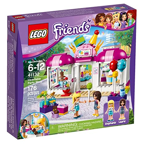 Amazon.com: LEGO 41132 Friends Heartlake party shop: Toys & Games