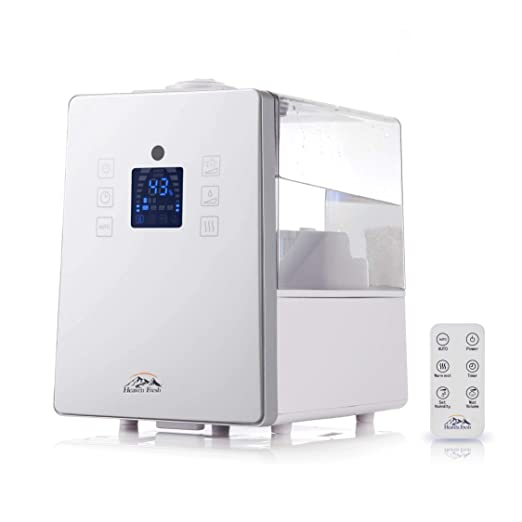 Puremate PM 908 humidificador ultrasónico digital fresco con Ionizador