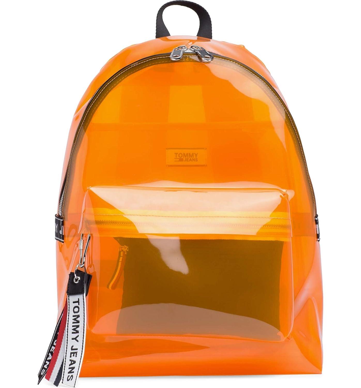 [トミーヒルフィガー] レディース バックパックリュックサック TOMMY JEANS Woven Logo Clear Backpack [並行輸入品] One-Size  B07PK6X1YC