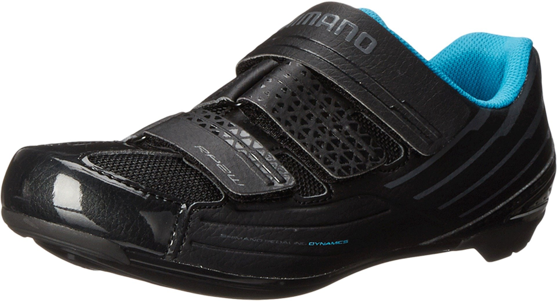 Shimano SH-RP2 Women's Touring Road Cycling Synthetic Leather Shoes, Black, 37 by SHIMANO