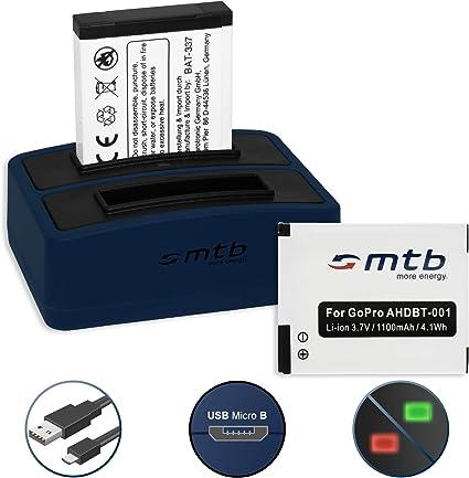 AHDBT-001 per GoPro2 HD Outdoor USB Surf Edition Caricabatteria Motorsports
