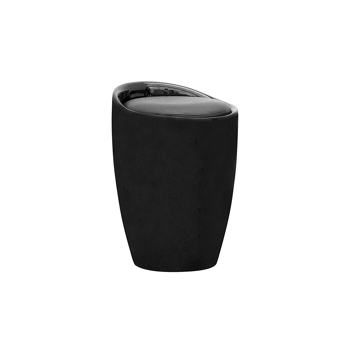 CorLiving DPV-600-S Storage Stool in Black Leatherette Corporate Images