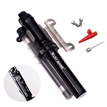 Portable Ultralight Mini Hand Pump Cycling Bicycle MTB or BMX Bike Tire Inflator