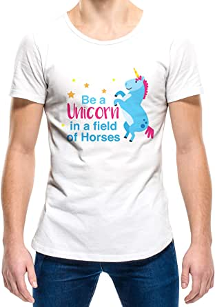 Upteetude Be A Unicorn In A Field Of Horses Unisex T-Shirt