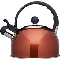Kitchencraft Hervidor de Agua con Silbato, Acero, 68x7.45x1.23