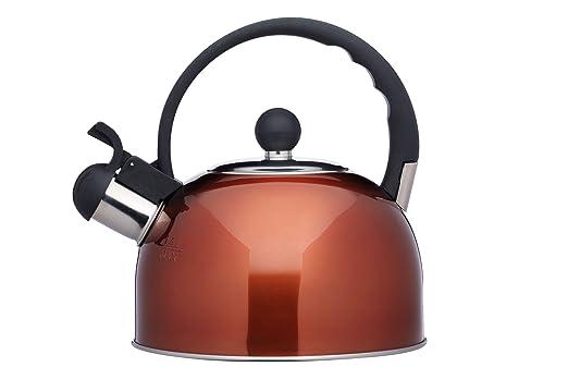 2 opinioni per Kitchencraft Le' Xpress induction-safe Stovetop fischio bollitore, 1,4litri,