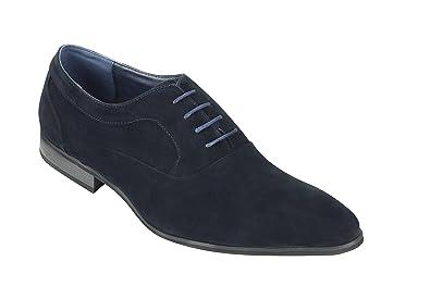 Xposed pour Homme en Daim et Brevet Brillant Cuir Ligne Oxford à Lacets  Formelle Chaussures de 15e256d385fc