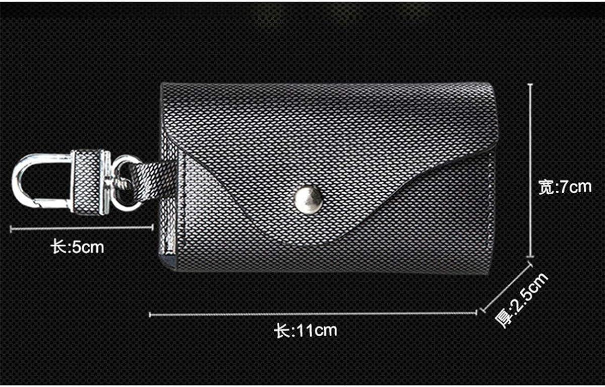 HHXWU Bag key case leather key case multi-function key bag mens leather bag