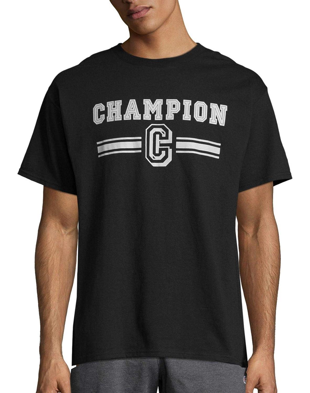 Champion Mens Graphic Jersey Tee