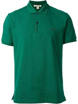 Burberry Brit 3929358 Camisa polo Verde Aqua Green Hombre: Amazon ...