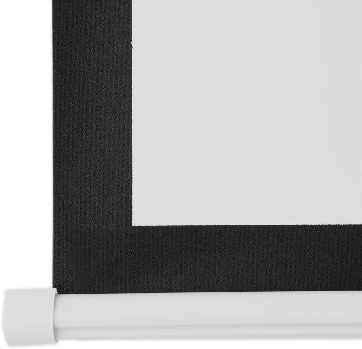 wei/ß Beamer Leinwand optimiert f/ür beamergest/ützte Pr/äsentationen Bilddiagonale 274 cm 108 Zoll Rahmenleinwand 240 x 135 cm einfache Montage FrontStage PSGA-108 Projektor Leinwand