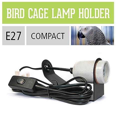 Ardacia ADBHX Lampen Montierset Lampe für Vogelheime