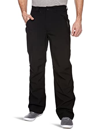 Craghoppers Steall Men's Waterproof Stretch Trousers - Black, 30 inch  Waist/Regular Length