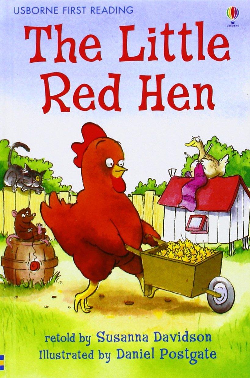 The Little Red Hen (Usborne First Reading: Level 3): Amazon.co.uk:  Davidson, Susanna, Postgate, Daniel: 9780746070512: Books