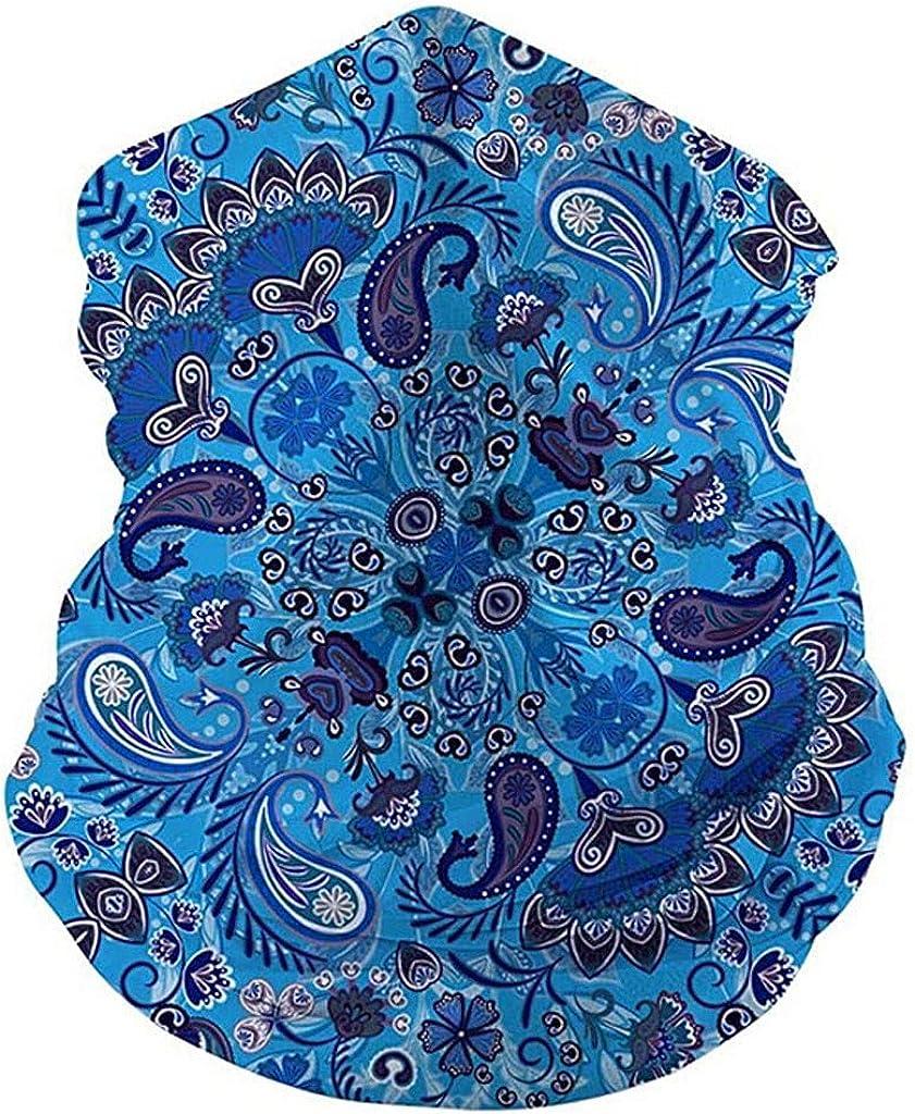 Rosennie Herren Damen 3D Muster Multifunktionstuch Kopftuch Mehrzweckschlauch Bandana Kopf Kopfbedeckung Kopftuch Wind Motorrad Gesicht Mundschutz Face-Shield Multi-Scarf