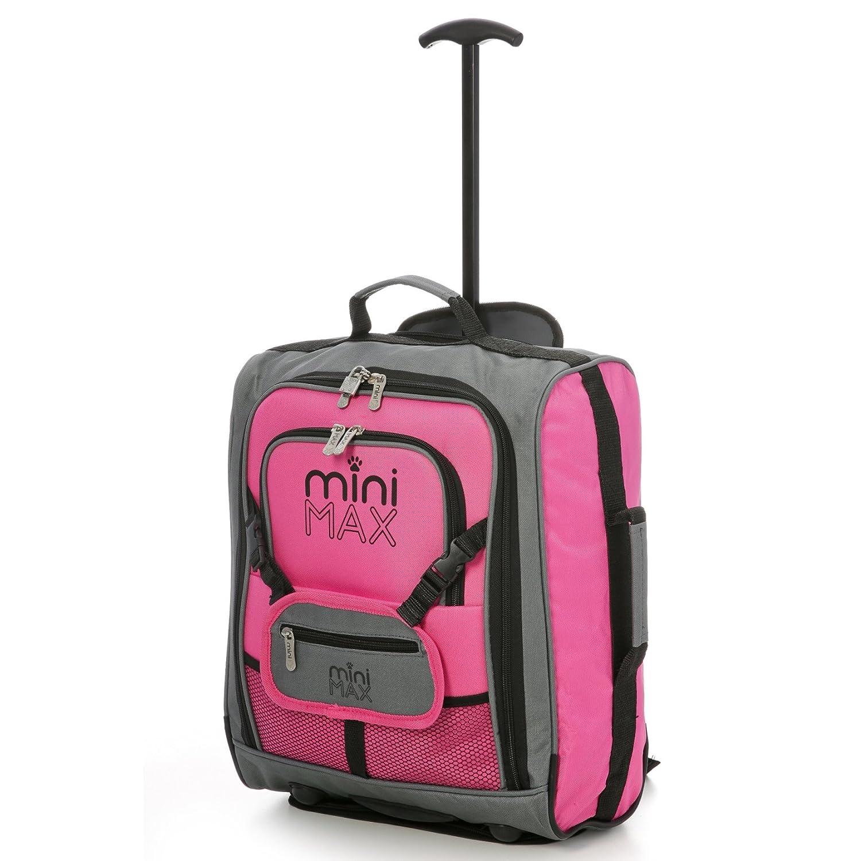 Minimax Equipaje infantil niños cabina de equipaje maleta trolley con la mochila