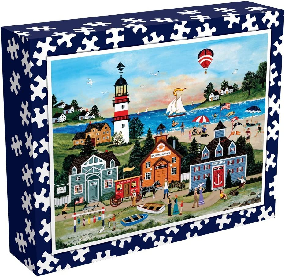 Jane Wooster Scott Waterfront Artistry Ceaco Perfect Piece Count Puzzle