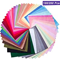 Multicolor Cotton Fabric Square 4 x 4 Inches Cotton Patchwork Fabric Bundles Mixed Sewing Quilting Cotton Squares for…