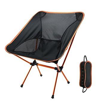 Sillas de camping portátiles, Yocuby Outdoor Ultralight ...