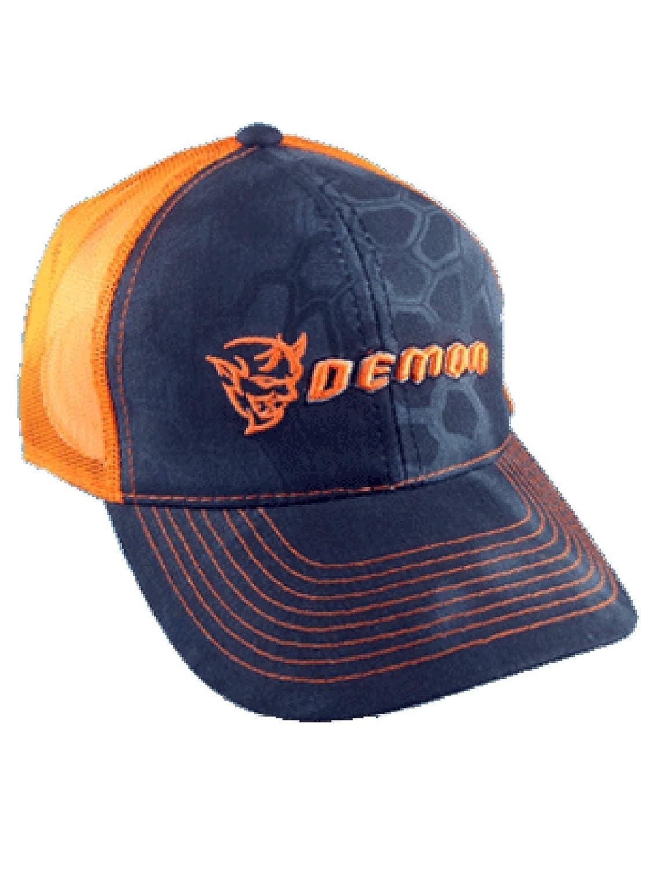 Dodge Demon Orange Mesh Kryptek Cap