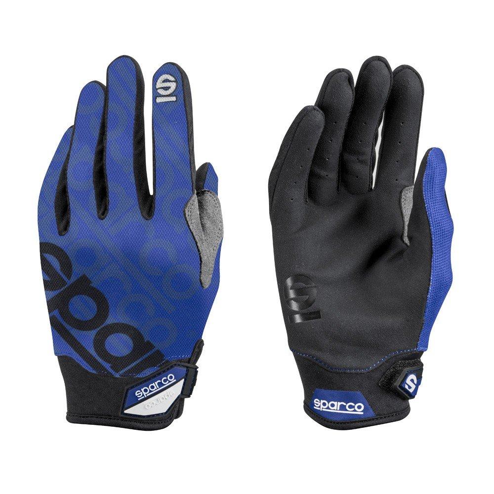 Sparco s002093az1s Meca 3 guanti, colore: blu, taglia S