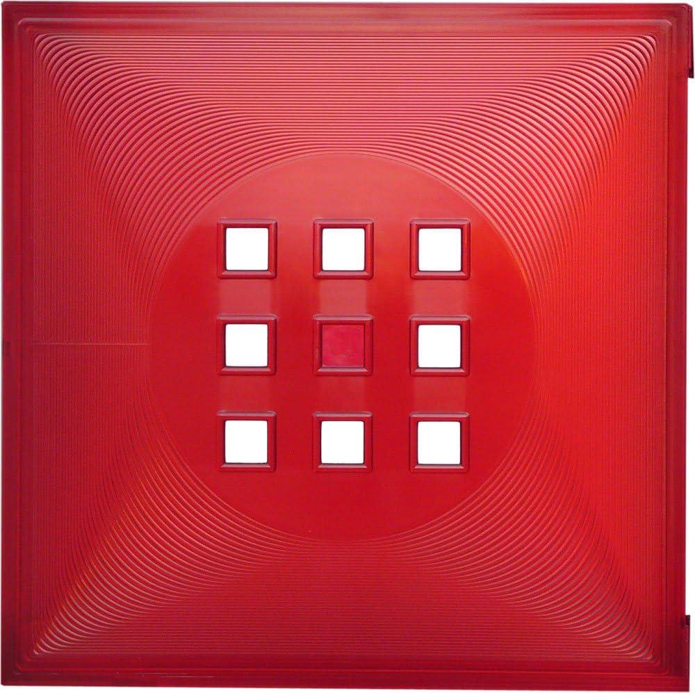 DEKAFORM Puerta para fuente divisor de espacios, estantería de cubo flexible IKEA Expedit + Kallax con clavo, XXXL * rojo