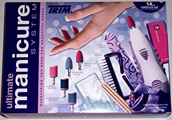 Amazon. Com: trim portable manicure system. 1ct. (mst): manicure.