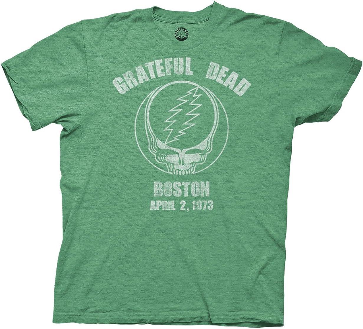 Ripple Junction Grateful Dead Boston 73 Adult T-Shirt