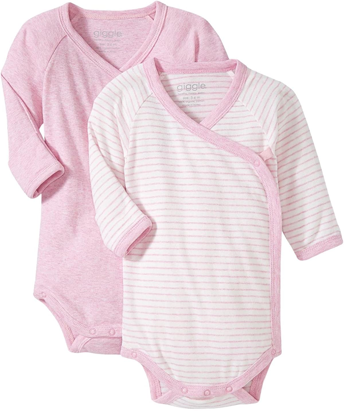 Same day shipping giggle unisex-baby L S Sale Special Price Baby 2 Set of Body
