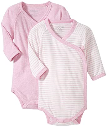 0c46e690a Amazon.com: giggle L/S Baby Body Set of 2: Clothing