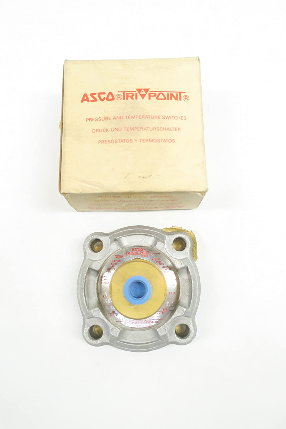 Amazon.com: ASCO TD30A21 TRI-POINT PRESSURE SWITCH D586616: Industrial & Scientific