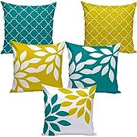 AEROHAVEN™ Set of 5 Multi Velvet Cushion Covers.(CC-53)