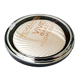 Makeup Revolution - Vivid Baked Highlighter Golden Lights